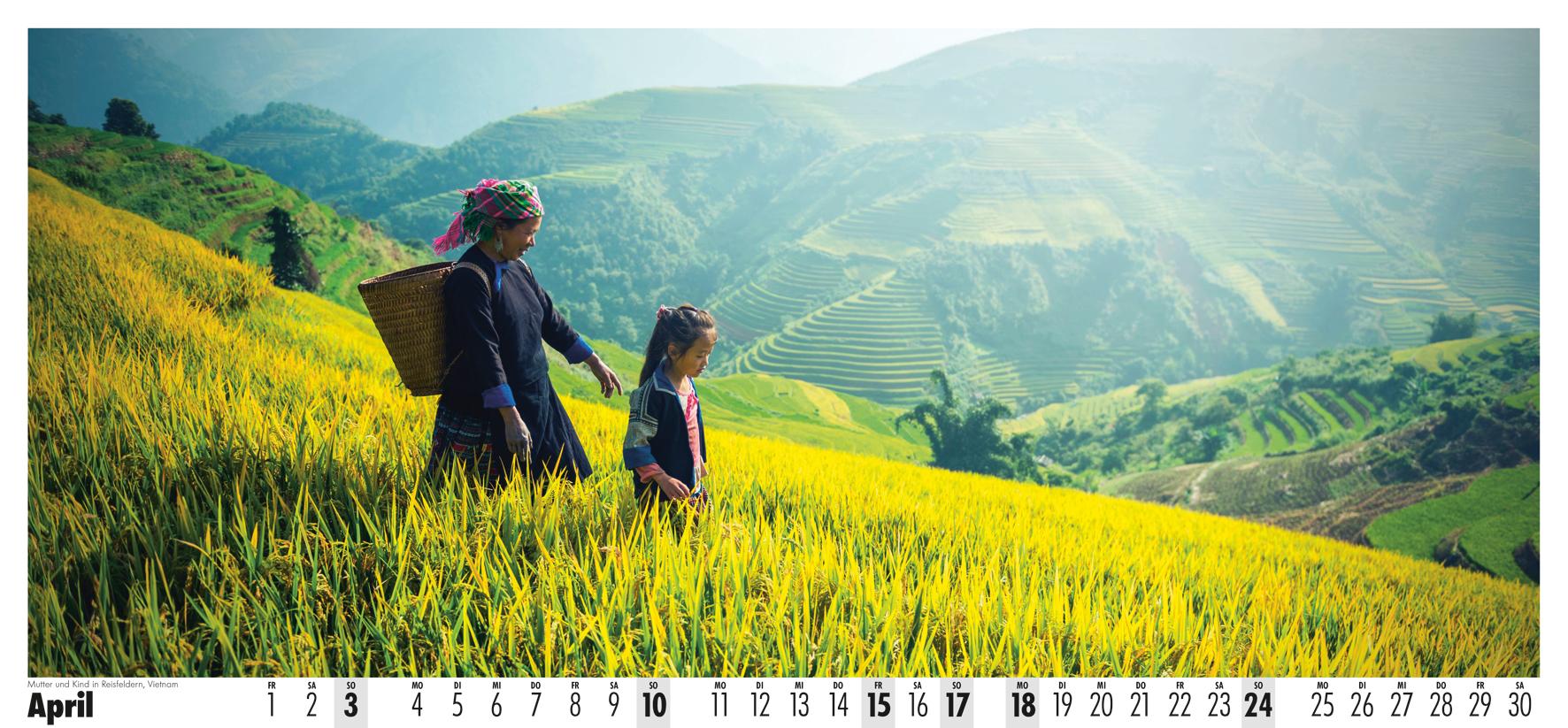 Fotowandkalender Brot für die Welt 2022