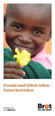 Freude und Glück teilen - Gutes bewirken
