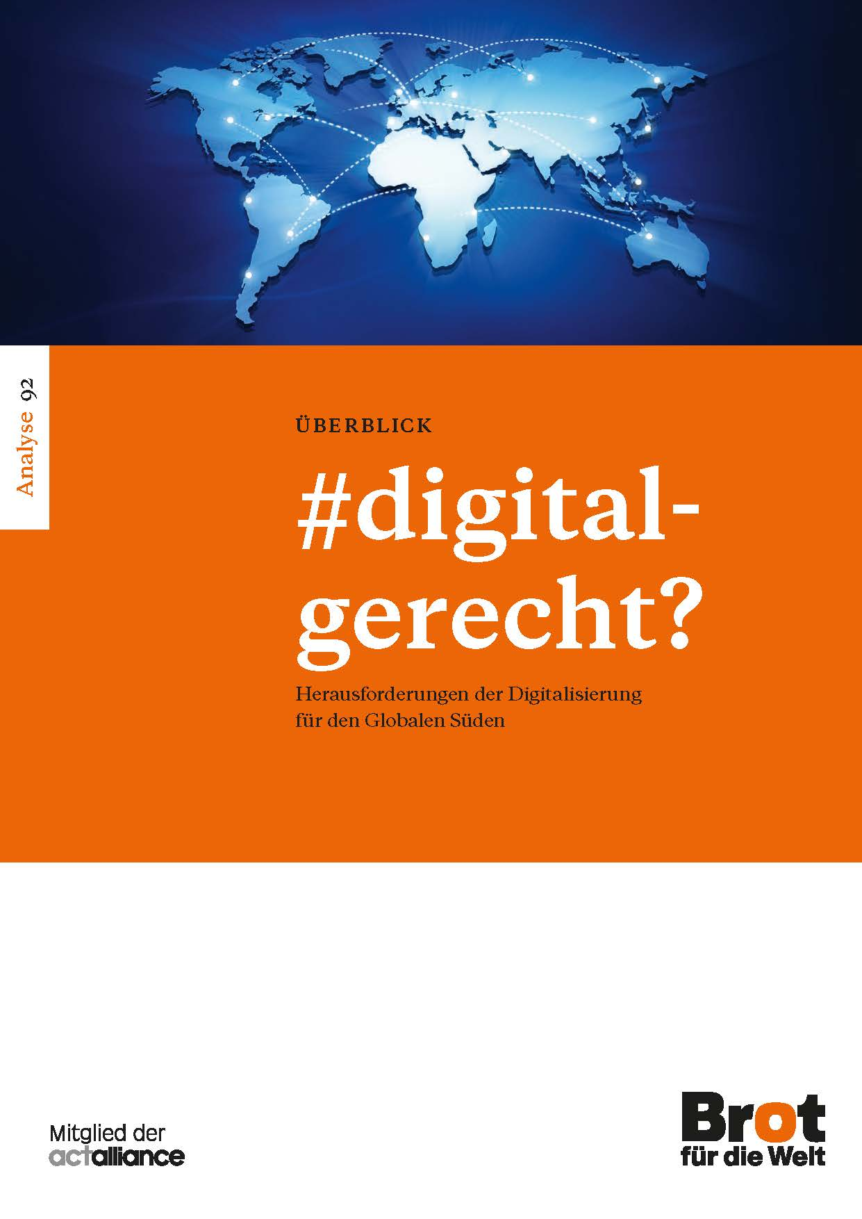 Analyse 92: #digitalgerecht?