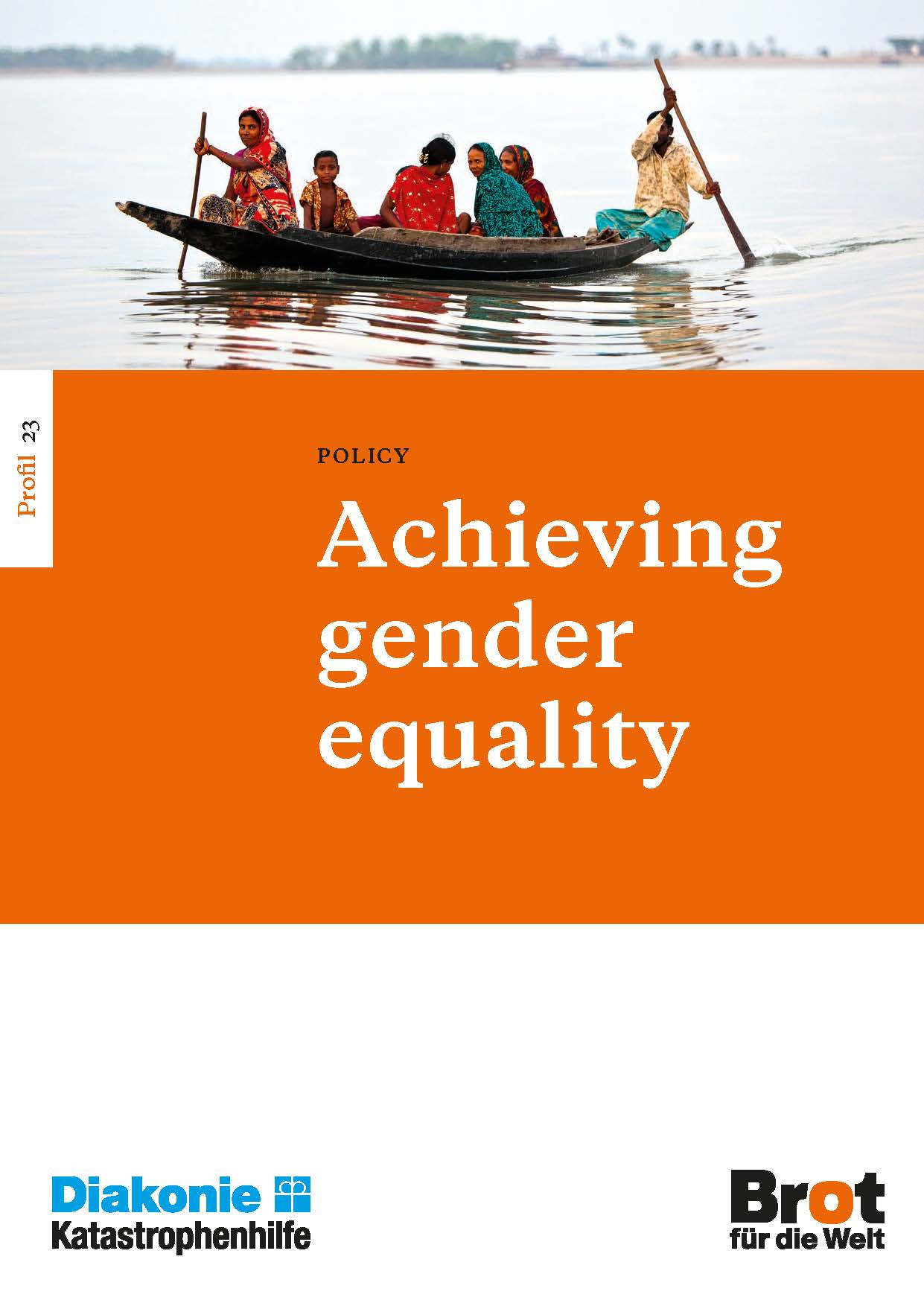 Profile 23: Achieving gender equality