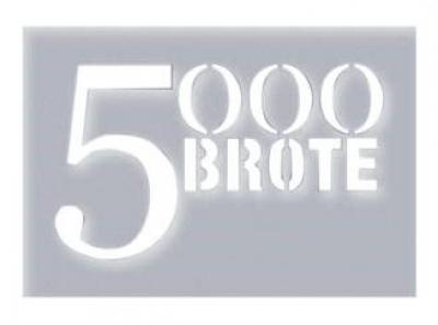 Schablone 5000 Brote