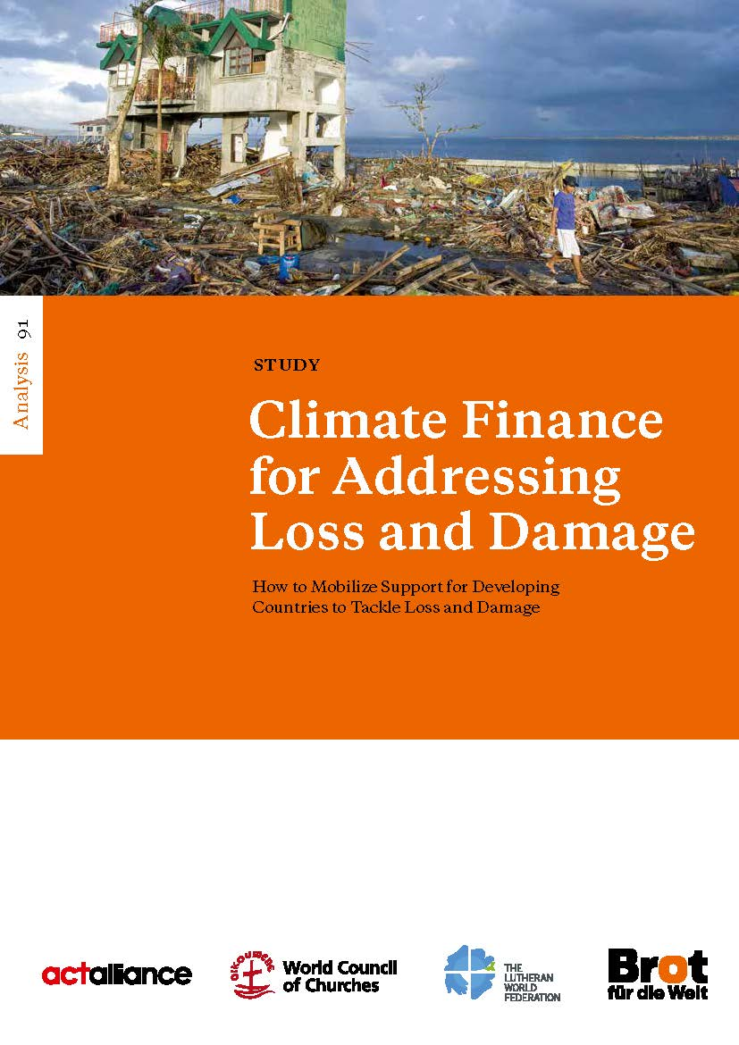 Analysis 91: Climate Finance for Addressing Loss and Damage