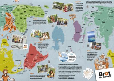 Unsere neue Weltkarte zu Klimagerechtigkeit