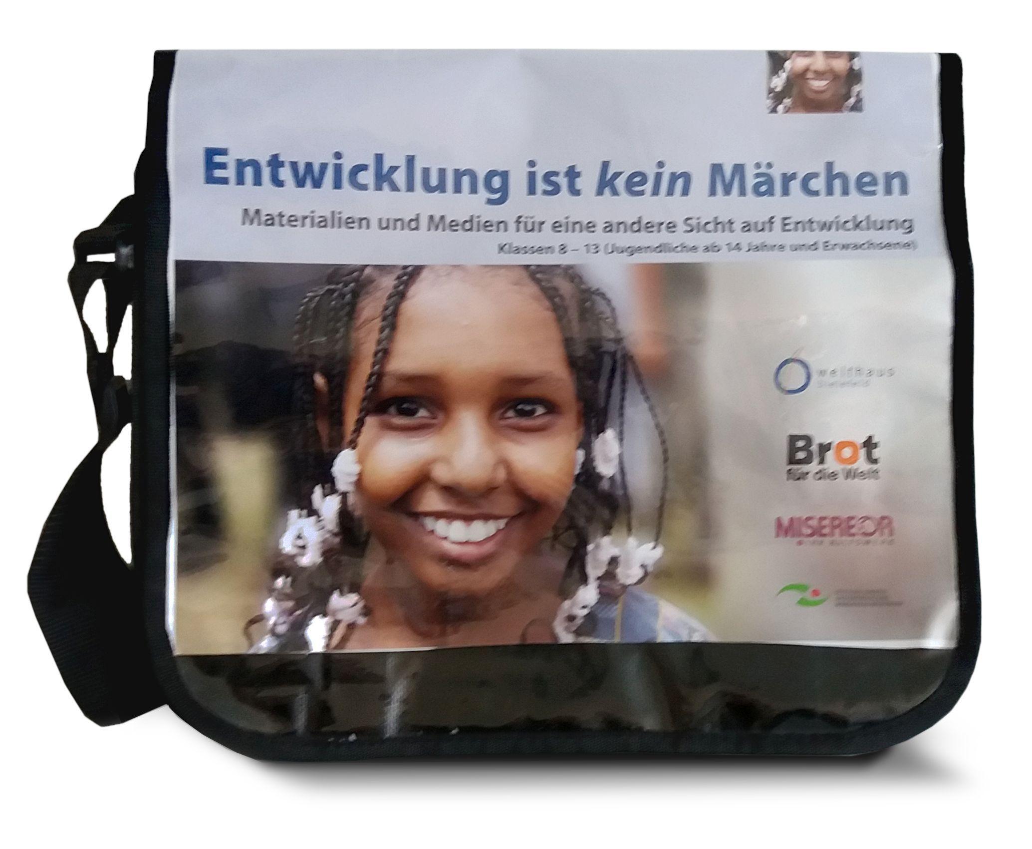 """Lern-Tasche BildungsBag: """"Entwicklung ist kein Märchen"""""""