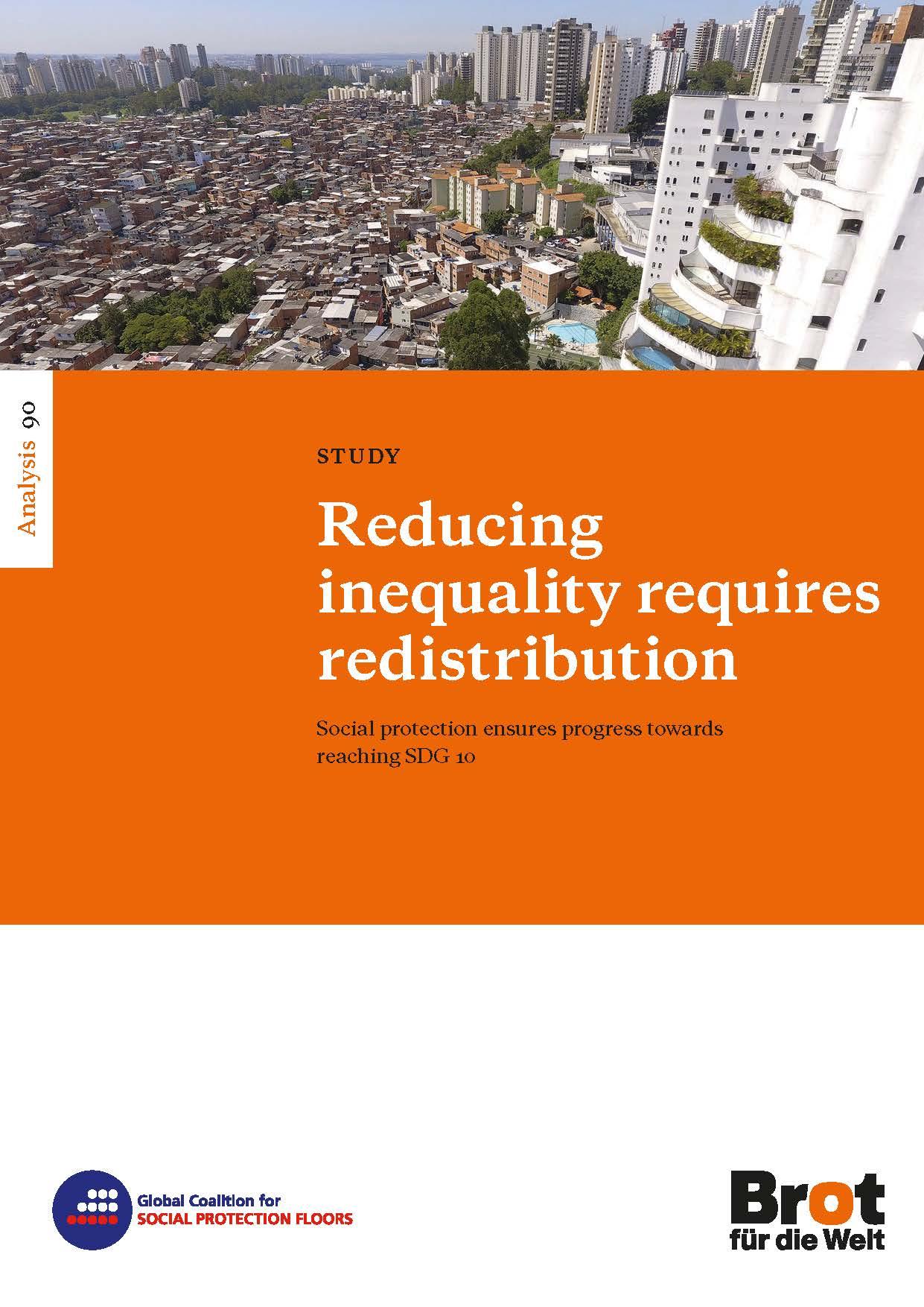 Analysis 90: Reducing inequality requires redistribution