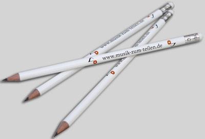 Bleistifte: Musik zum Teilen