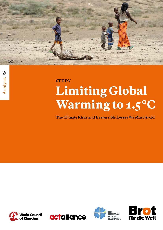 Analysis 86: Limiting Global Warming to 1.5°C