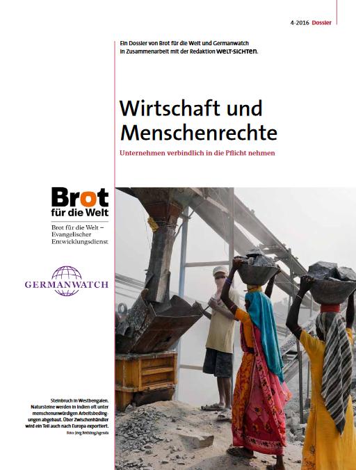 Weltsichten-Dossier: Wirtschaft und Menschenrechte