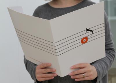 Notenmappe: Musik zum Teilen
