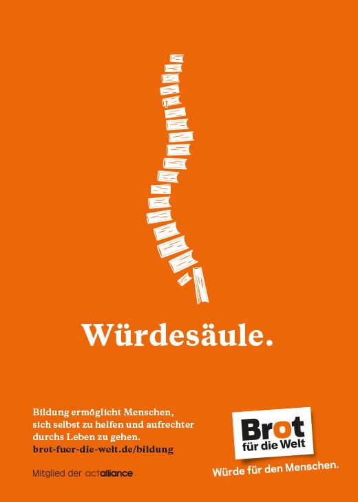Plakat: Würdesäule