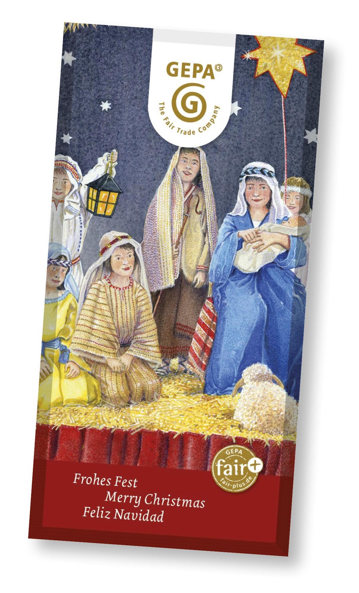 Weihnachtsschokolade 2021