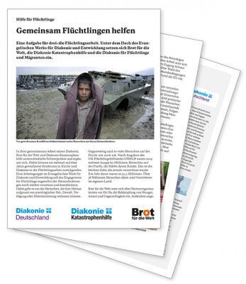 Dossier: Hilfe für Flüchtlinge